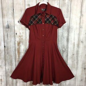 Annie 50 Rockabilly VLV Dress Size Small